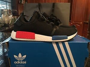Black adidas nmd size 11 us Belmore Canterbury Area Preview