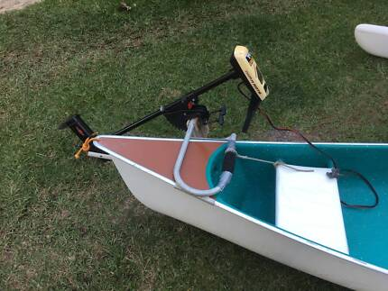 Outboard motor bracket for Rosco Canoe (motor already gone)