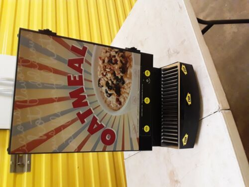 Curtis Commercial Oatmeal Auto Dispenser/Dispensing System! 3 Flavor! cafe hotel