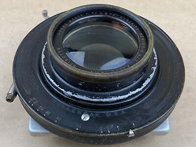 "GOERZ 14"" Inch DAGOR F/7.7 Large Format Series III No.7 Lens w/ Betax V Shutter, used for sale  Bakersfield"