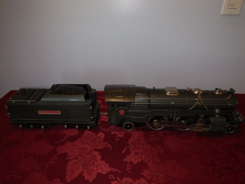 Lionel,392E Loco+Tender,Gunmetal,Boxed,With The Master Carton,Excellent+++