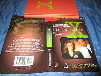 AKTE  X  , Stories  # 10 ,  Die unheimlichen Fälle des FBI , 1. Auflage 1997
