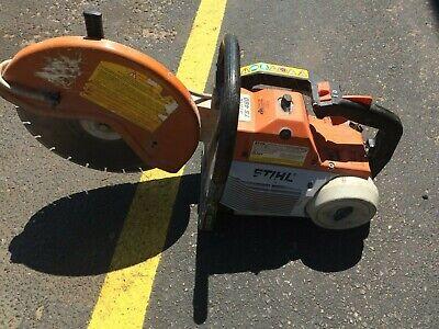 Stihl Ts460 Gas Powered Concrete Cut-off Saw 14 Blade