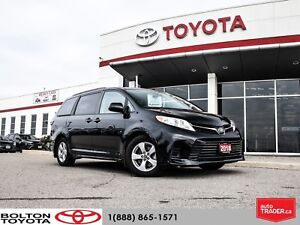 2018 Toyota Sienna LE 7-Passenger|POWER SLIDING DOORS|ACCIDENT F
