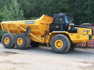 Jd John Deere 350c And 400c Articulated Dump Truck Service Repair Manual Tm1790