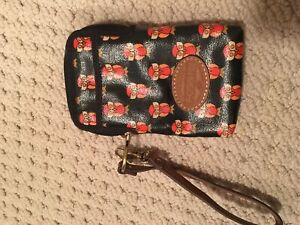 Fossil pouch/wallet with wrist strap