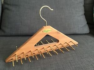 Wooden tie rack hanger Kingston South Canberra Preview