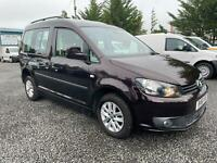 Vw caddy dsg auto drive from wheelchair