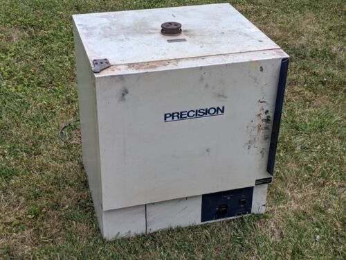 Precision No. 51221126 Lab Oven 65C to 200C - heater shop used drying curing