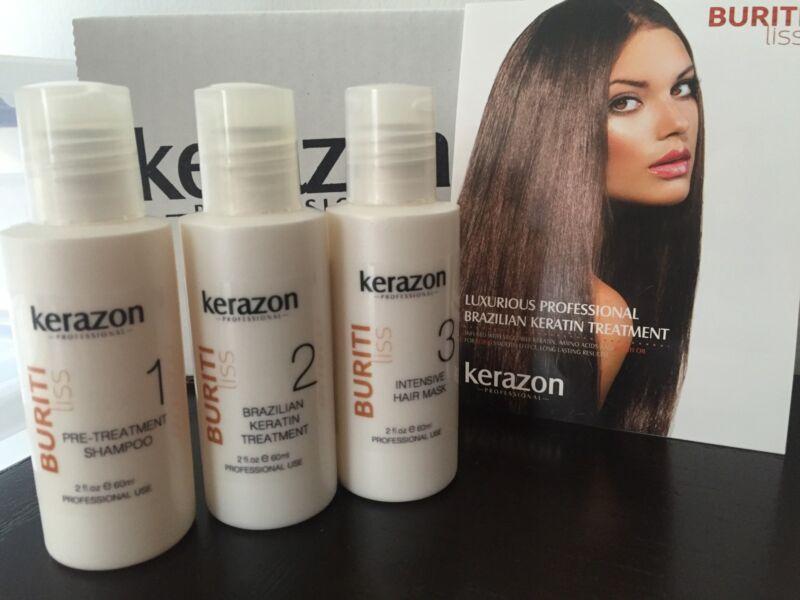 Brazilian Keratin Treatment Complex Blowout KERAZON 6oz/180ml KIT Keratina