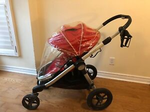 Baby Jogger City Select Stroller with Rain Cover m