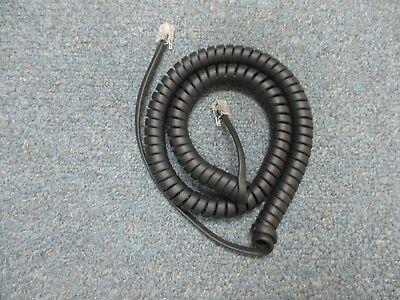 Polycom Soundpoint Ip 650 2200-12651-001 - 12 Flat Black Handset Cord Fb1