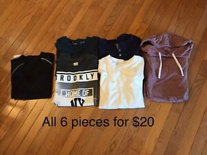 Size Small Men's Clothing