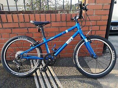 HOY Bonaly 20 Inch Wheel, Kids Lightweight Bike metallic Blue