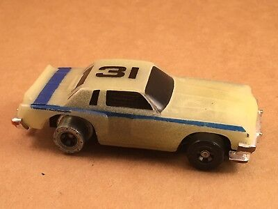 Vintage 1977 Ideal TCR Lighted Blazers #31 Slotless Race Car for TCR Track for sale  Shipping to Canada