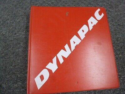 Dynapac Ca262d Vibratory Smooth Drum Roller Parts Catalog Manual Book
