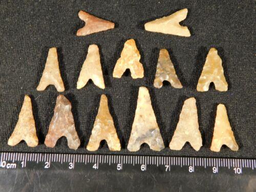 A Big Lot of Ancient North African Tidikelt Arrowhead s 6.54