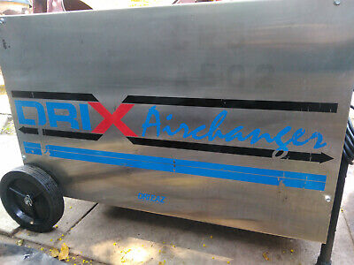Dri-eaz Ltd. Edition Dri-x Airchanger Dehumidifier Or Heat Exchanger Improve Iaq
