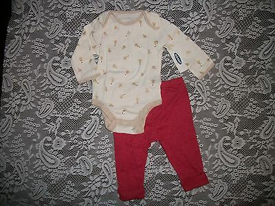 Old Navy Infants CHRISTMAS TREES Bodysuit & Pant, Pajamas, Loungewear Boy / -