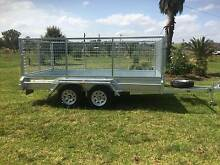 12x6 Galvanised Tandem Box Trailer 1000mm Cage Heavy Duty Kemps Creek Penrith Area Preview