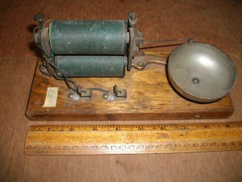 T494 Antique Electric Motor Door Bell Brass Body DC