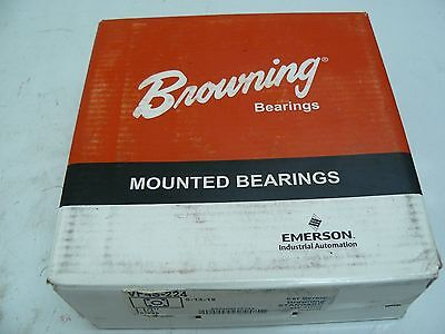 New Browning Vf4s-224 Flanged Bearing 4 Bolt 1-12 Inch Bore