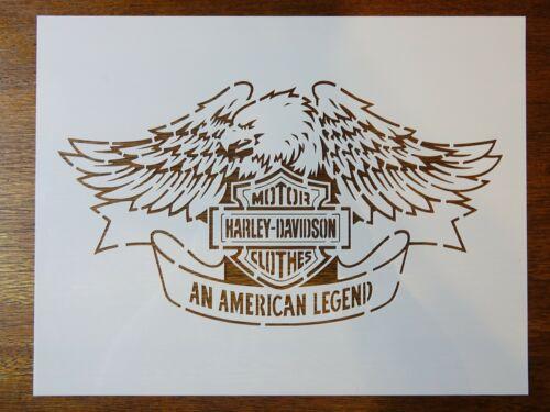 Harley Davidson Custom Stencil Fast Free Shipping v2