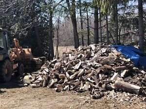Firewood for sale by the truck load