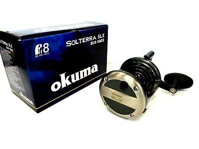 Okuma Solterra SLX-15CS Lever Drag Conventional Reel 15CS High Speed 6.0:1 - NEW 15 Lever Drag Trolling Reel