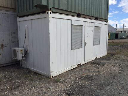 Home prefab transportable office shipping containers  Darra Brisbane South West Preview