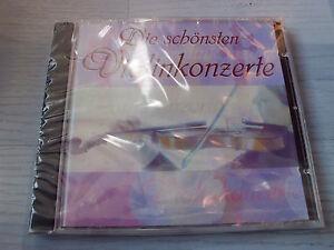 DIE SCHÖNSTEN VIOLINKONZERTE Brahms, Mozart, Vivaldi, u.a. Klassik CD, 6 Tracks!