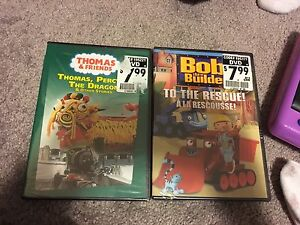Thomas and friends and Bob the Builder DVD