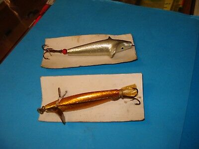 HARDYS VINTAGE 3 INCH GOLDEN SPRAT AND DEVON LURE