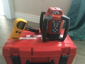 HILTI PR 25 IF ROTATING LASER LEVEL