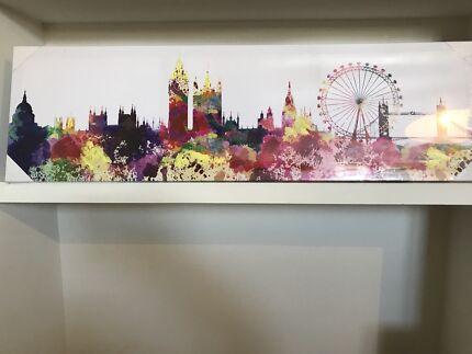 London Skyline Canvas