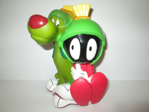 """Marvin The Martian 8"""" Plastic Bank Bust Warner Bros Applause"""