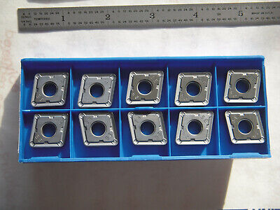 New 10 Pcs. Kennametal Cnmg 646a-5e Indexable Carbide Inserts Steel Grade Sp0819