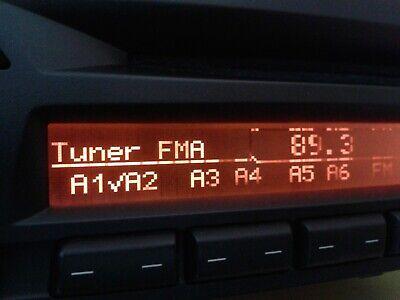 DISPLAY LCD REPARATUR BMW PROFESSIONAL CD RADIO ALPINE CD73 E87 E90 E91...