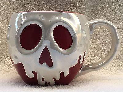 Disney Parks Snow White/Evil Queen Poison Apple Mug Cup Ceramic 14 fl oz