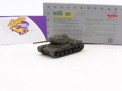 """Herpa 743471-002 # Panzerkampfwagen JS-1 in millitärgrün """" UDSSR """" 1:87 NEUHEIT"""