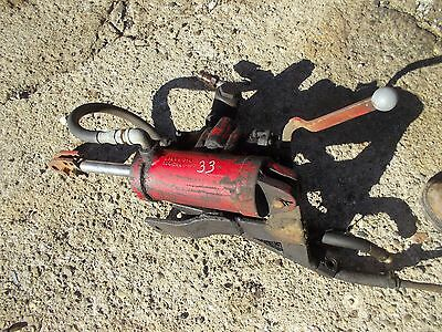 Massey Harris 33 Tractor Mh Hydraulic Hitch Lift Cylinder Outlet Hoses 3pt Hitch