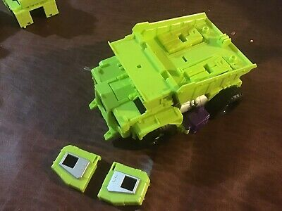 Transformers Combiner Wars Constructicons Devastator Lot Long Haul W Upgrade