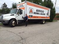 Amigo moving and delivery. Last minute call 519-241-1483