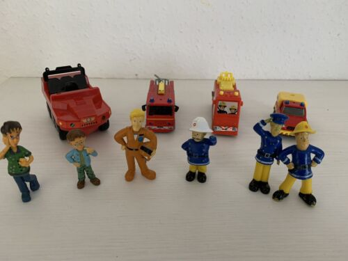 Feuerwehrmann Sam Konvolut Fahrzeuge & Figuren