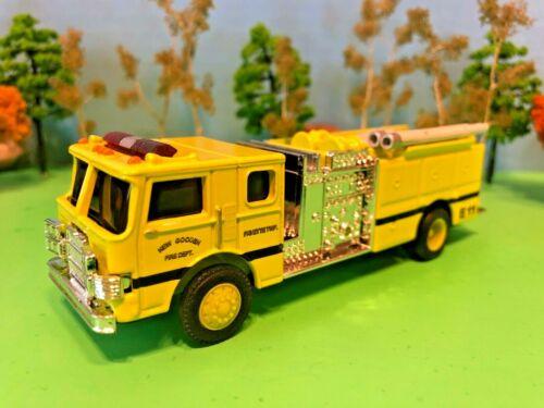 Fire Truck Pumper, New Gooden, Fayette Township, Indiana Fire Department, 1:64