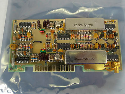 Hp Agilent 3320b Frequency Synthesizer Standard Circuit Board Pn 03320-66505