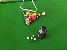 Billiard Table 3/4 slate base Antique Eppalock Bendigo Surrounds Preview