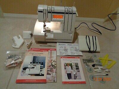 Husqvarna Viking Huskylock 936 Serger Overlock machine with accessories Manual