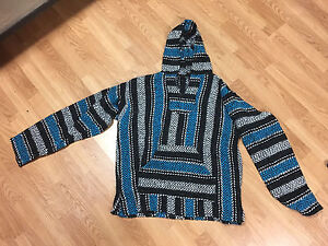 BRAND NEW MENS LARGE PONCHO SWEATER