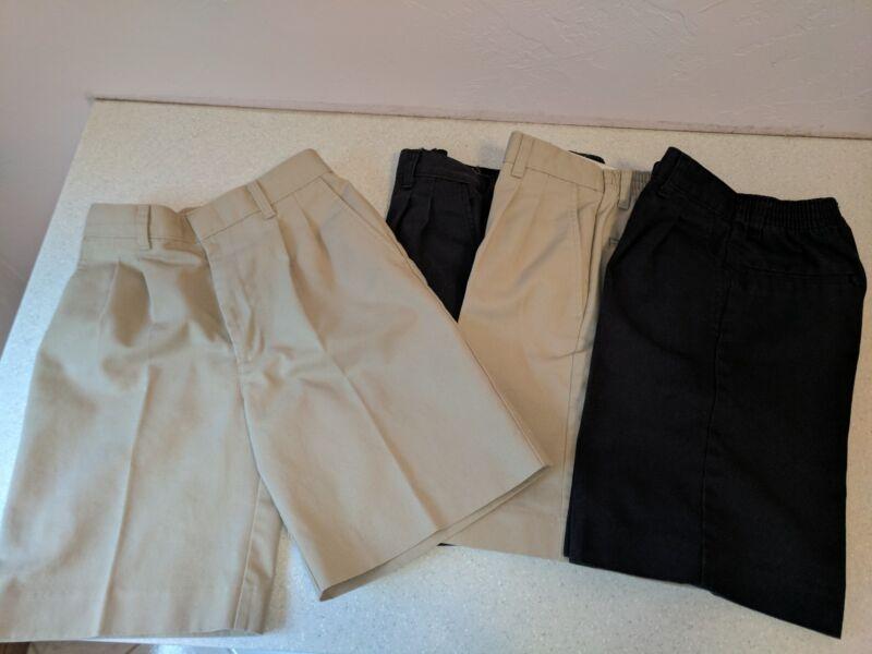 Boys Uniform Shorts Size 14 -- Lot of 4